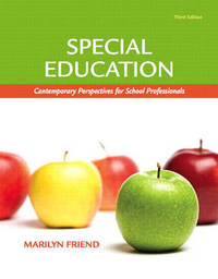 Special Education: Contemporary Perspectives for School Professionals by Marilyn Friend image