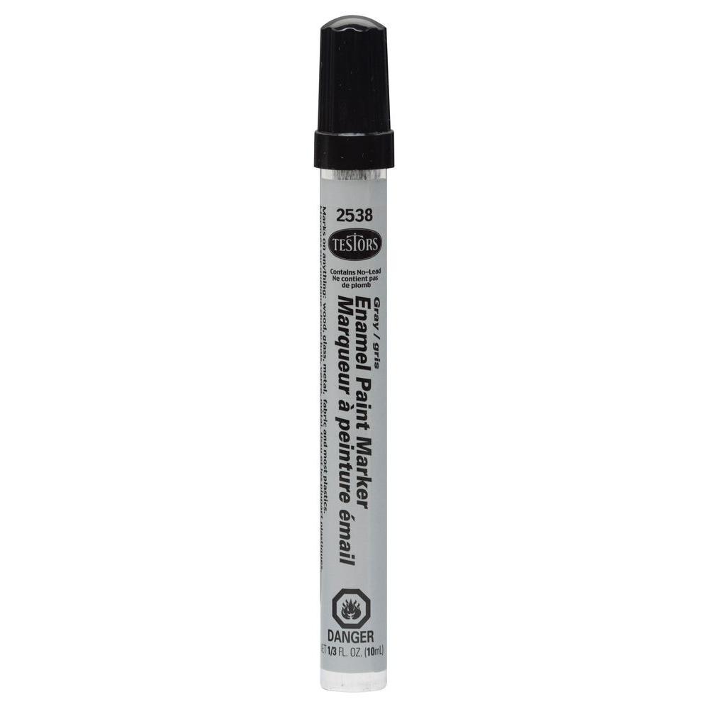Testors: Enamel Marker - Gray image