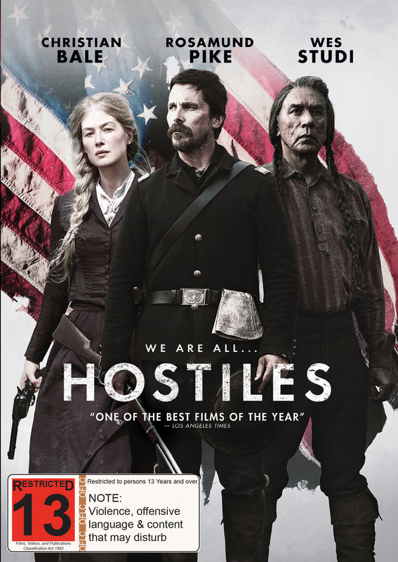 Hostiles on DVD