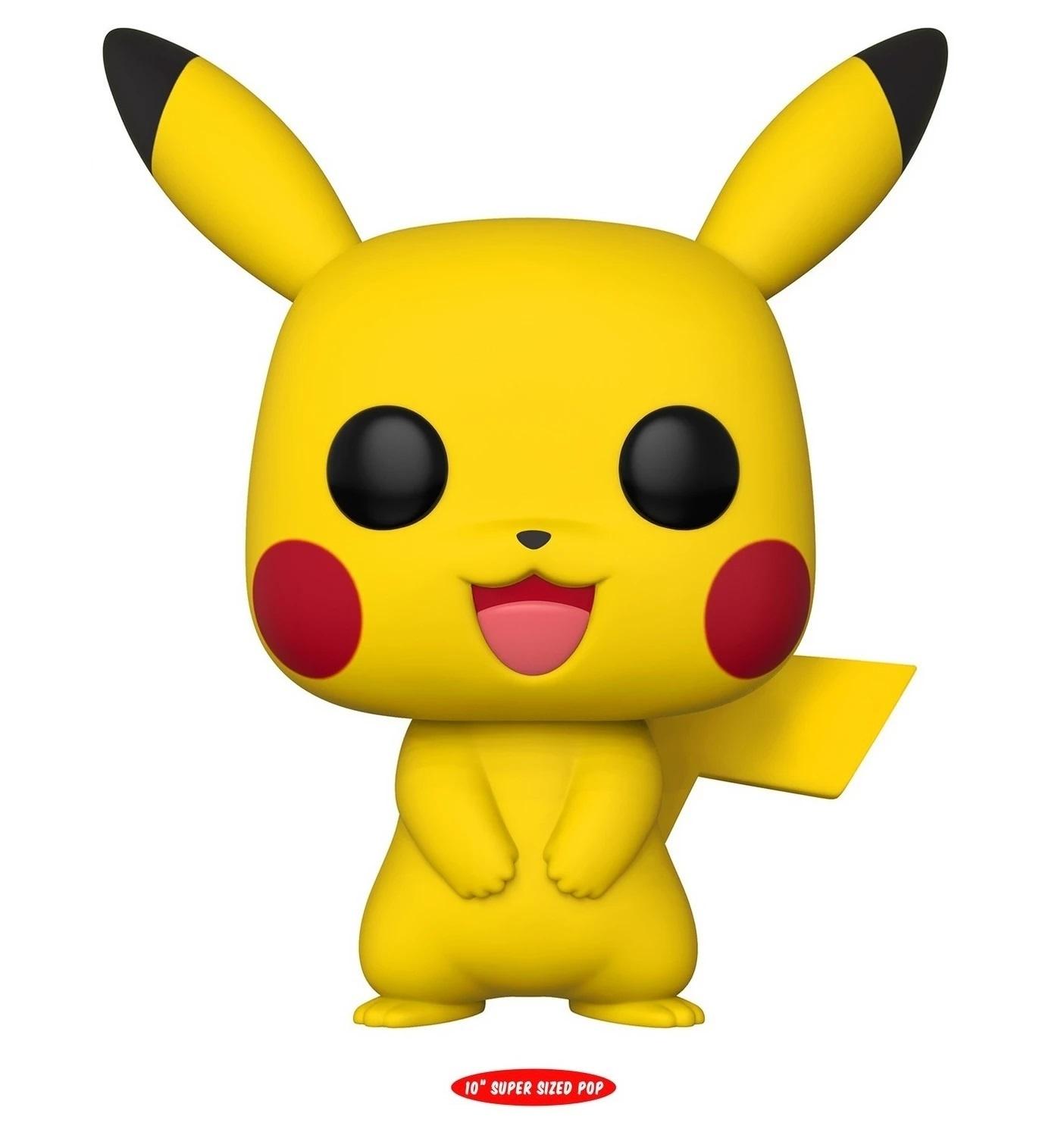 Pokemon Pikachu 10 Super Sized Pop Vinyl Figure