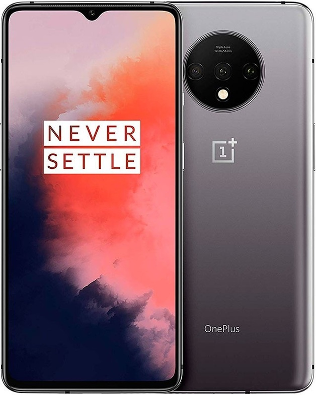 OnePlus 7T Smartphone (8GB RAM, 128GB, Frosted Silver)