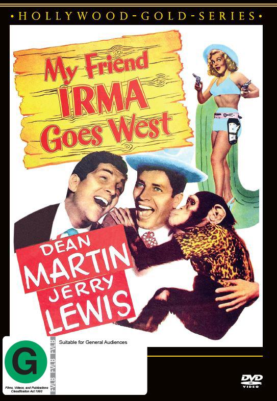 My Friend Irma Goes West on DVD