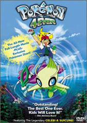 Pokemon - Pokemon 4Ever on DVD