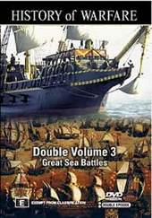 History Of Warfare - Double Vol. 3: Great Sea Battles on DVD