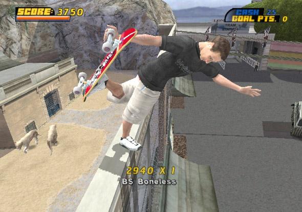 Tony Hawk 4 for PS2 image