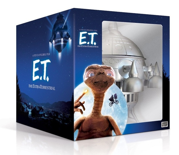 E.T. The Extra-Terrestrial Spaceship Edition on Blu-ray