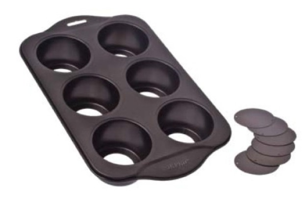 Non-Stick 6 Cup Small Cheese Cake Pan Loose Base