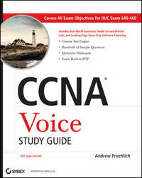 CCNA Voice Study Guide: Exam 640-460 by Andrew Froehlich image