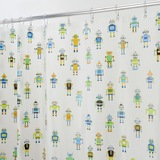 Interdesign Shower Curtain - Robotz