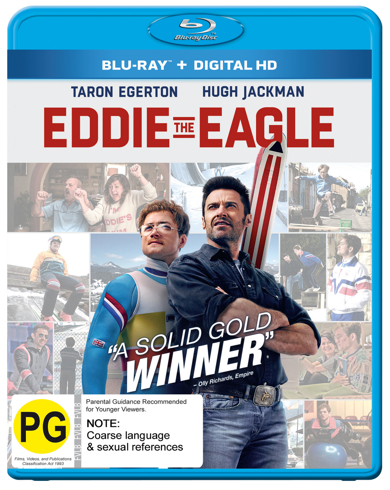 Eddie The Eagle on Blu-ray image