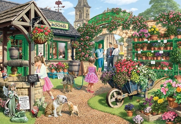 Holdson: 300pce Gallery Series XL Puzzle (Garden Shop) image