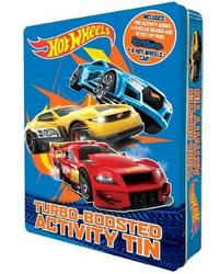 Hot Wheels: Turbo-Boosted Activity Tin