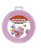 Mayka: Medium Construction Tape - Pink (2M)