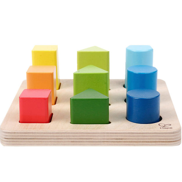 Hape: Colour And Shape Sorter