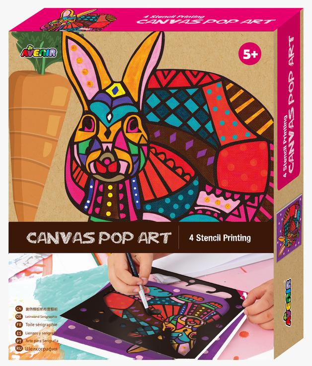 Avenir: Canvas Pop Art Kit - Rabbit