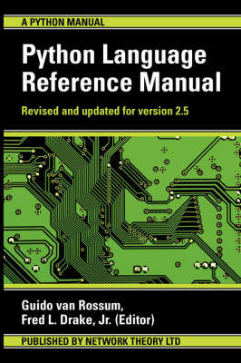 The Python Language Reference Manual by Guido van Rossum image