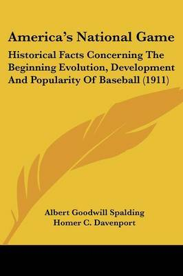 an introduction to the history and popularity of baseball in america