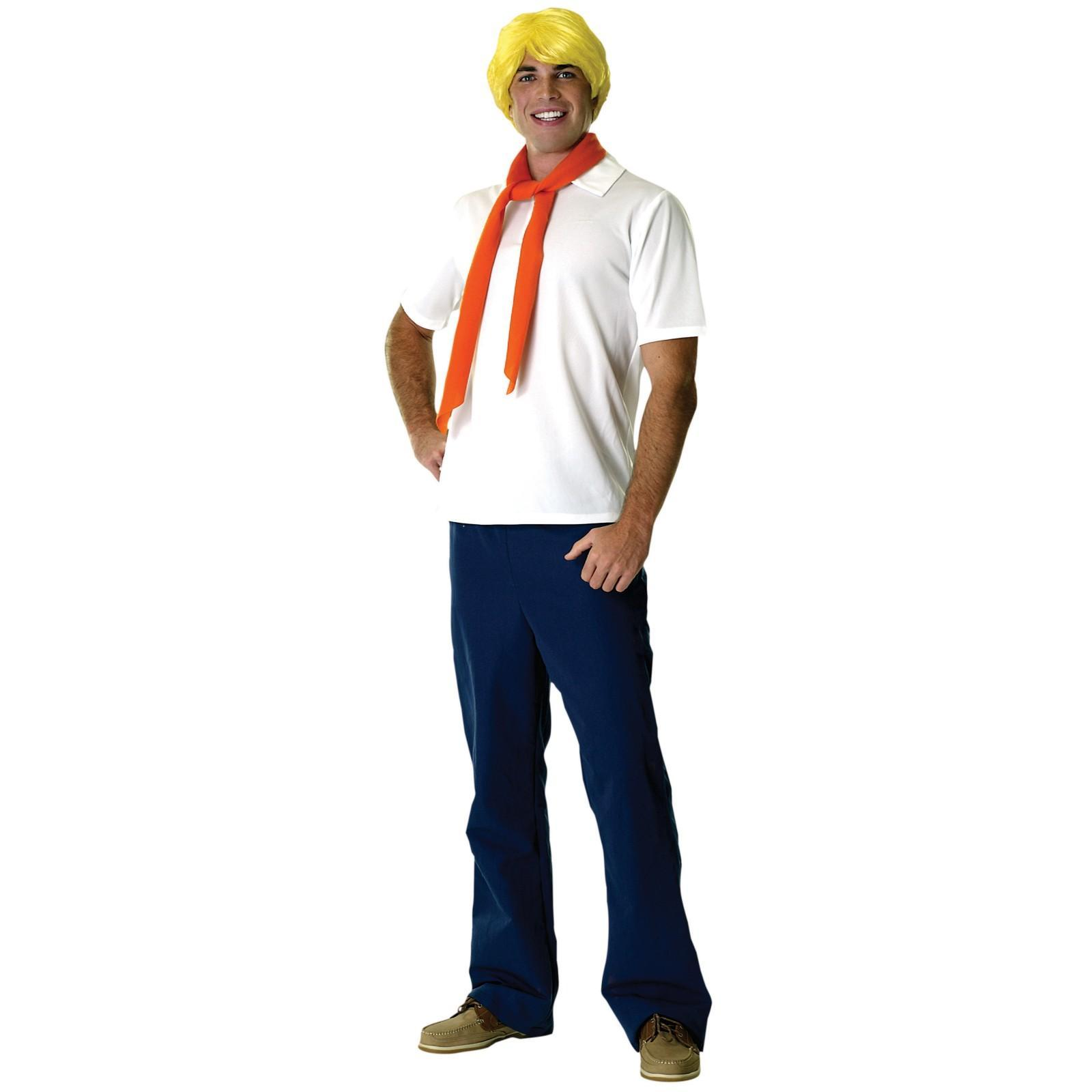 Scooby Doo Fred Costume (Standard Size) image