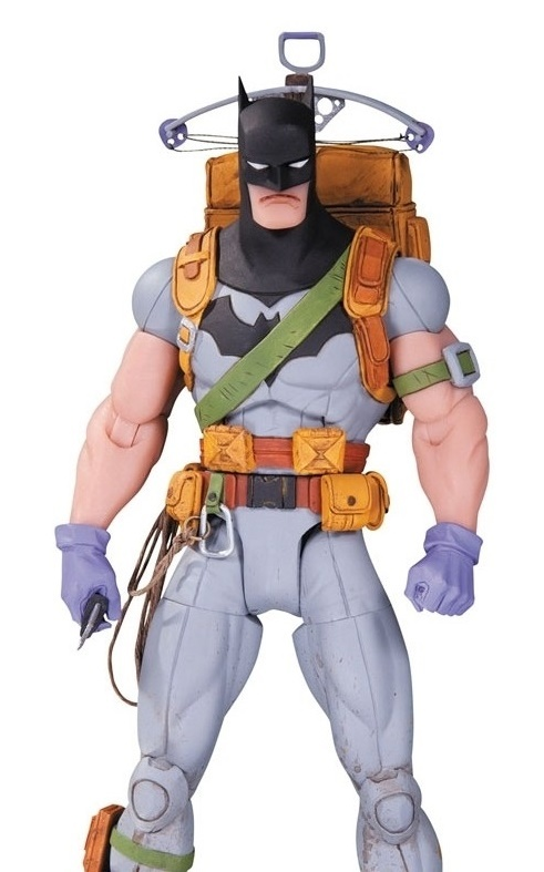 Batman (Survival Gear) - Designer Figure by Greg Capullo