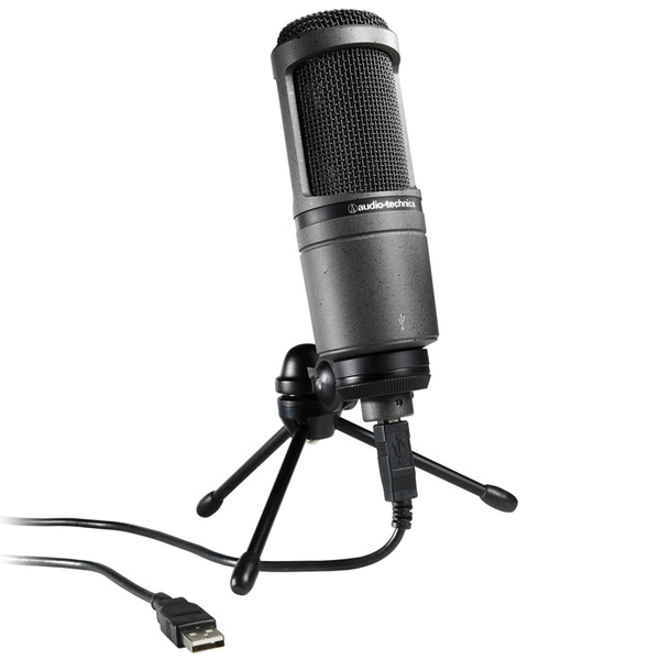 Audio-Technica AT2020 USB+ Condenser Cardoid Microphone for