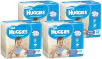 Huggies Ultra Dry Nappies Convenience Shipper: Crawler Boy 6-11kg (88)