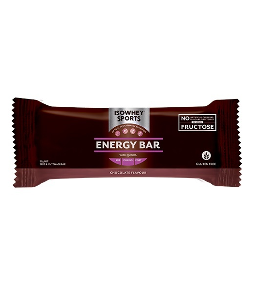 IsoWhey Sports Energy Bar - Chocolate (12x50g) image