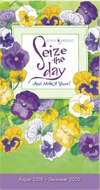 Seize the Day Two-Year-Plus 2018-2020 Pocket Planner by Robin Pickens