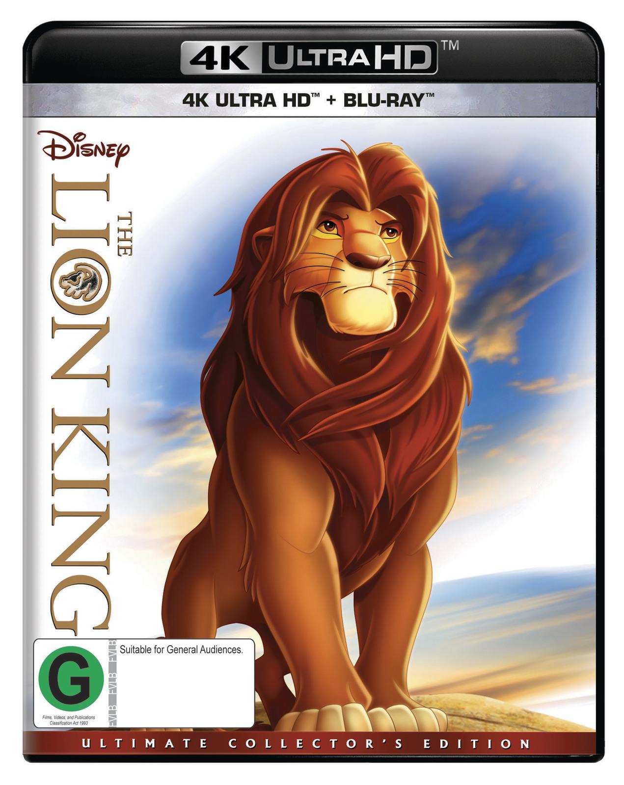 The Lion King on UHD Blu-ray image