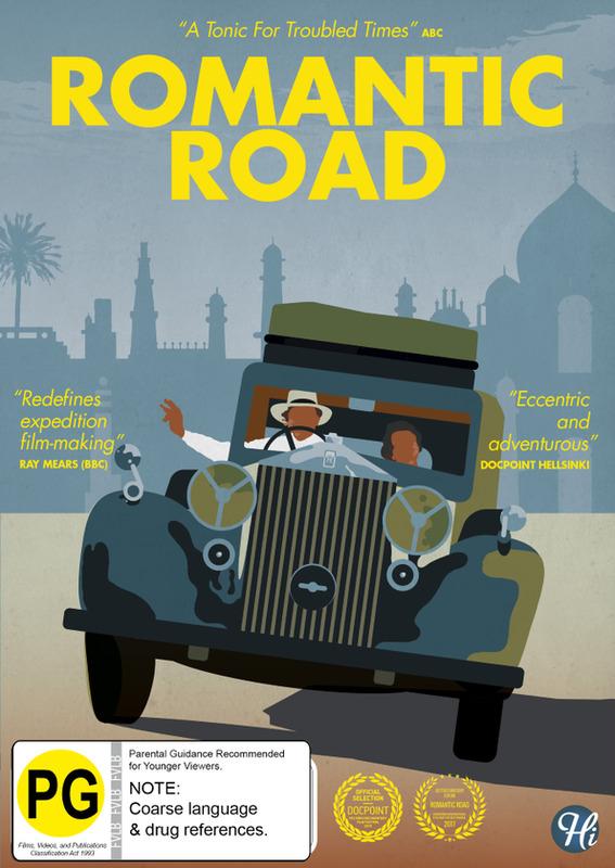 Romantic Road on DVD