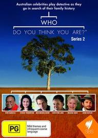 Who Do You Think You Are? (Aus) - Series 2 on DVD