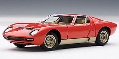 Lamborghini Miura Sv 1 43 Die Cast Model Red At Mighty Ape Nz