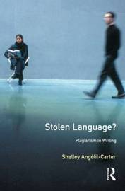 Stolen Language? by Shelley-Angelil Carter image