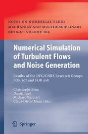 Numerical Simulation of Turbulent Flows and Noise Generation image