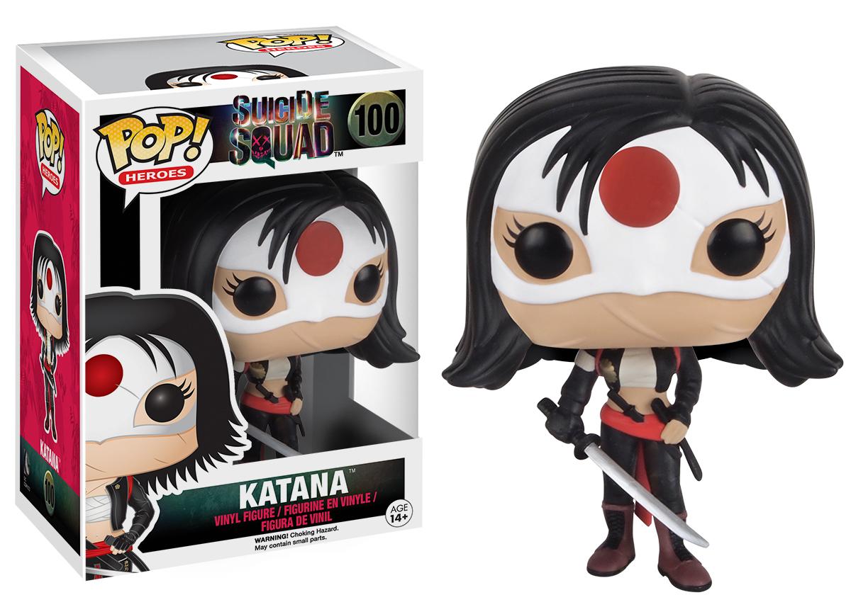 Suicide Squad - Katana Pop! Vinyl Figure image
