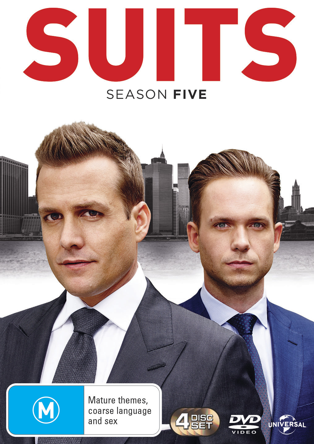 Suits - Season Five on DVD image