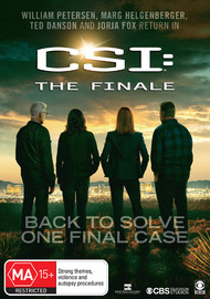 CSI: The Finale on DVD