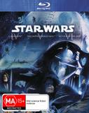Star Wars IV, V, VI (Original Trilogy) on Blu-ray