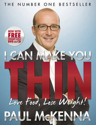 I Can Make You Thin (with DVD & CD) by Paul McKenna image