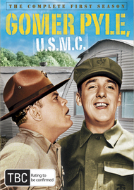 Gomer Pyle U.S.M.C: Season 1 (5 Disc Set) on DVD image