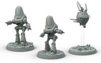 Fallout: Wasteland Warfare Robots- Protectron & Eyebot