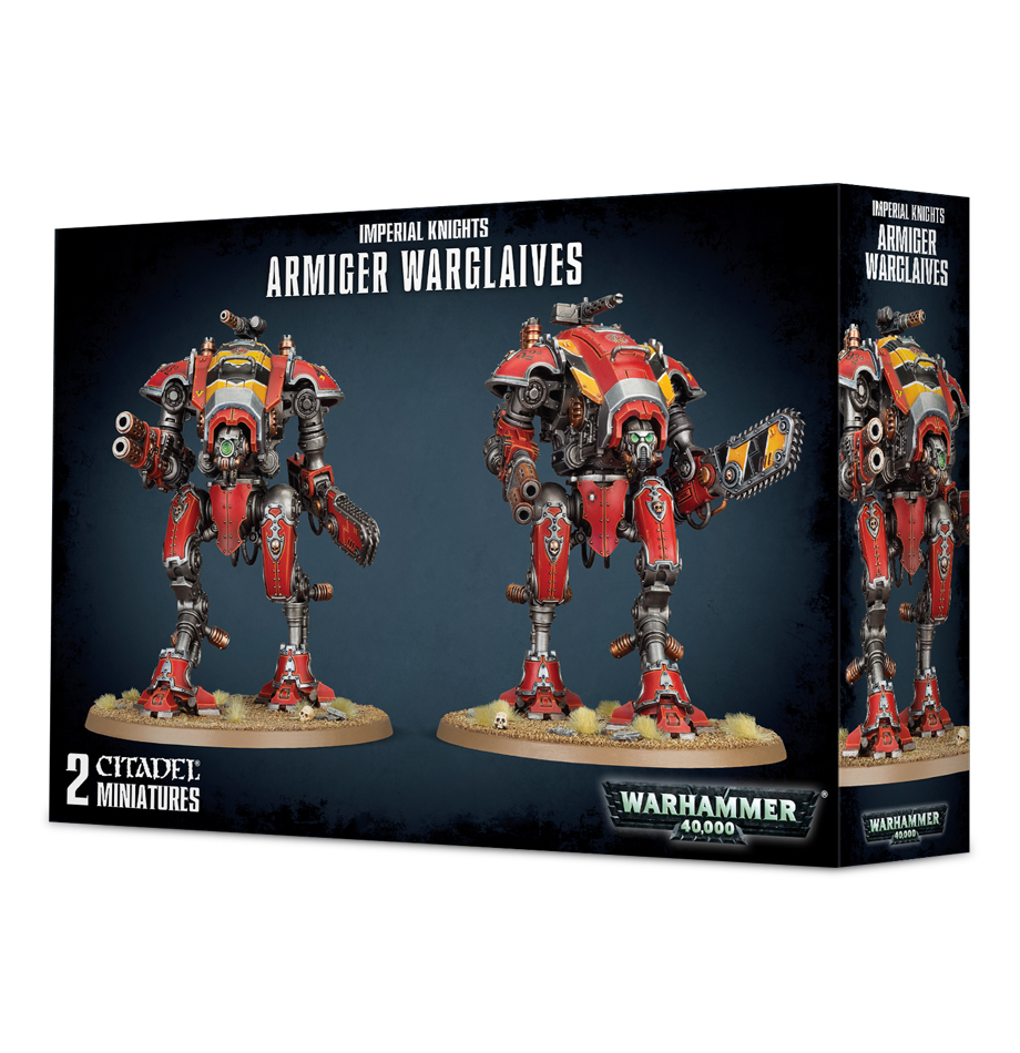 Warhammer 40,000 Imperial Knights - Armiger Warglaives image