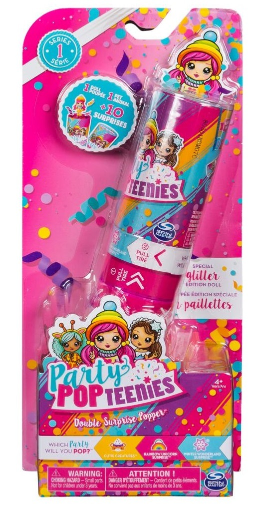 Party Pop: Teenies - Double Poppers (Blind Box) image