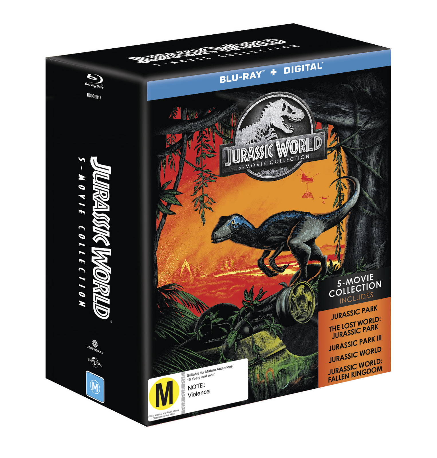 Jurassic 5 Movie Pack on Blu-ray image