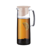 Biasca Ice Green Tea Jug - Pebble (1.2L)