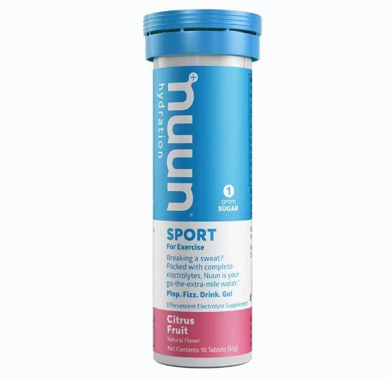 Nuun Sport Hydration Tablets - Citrus Fruit