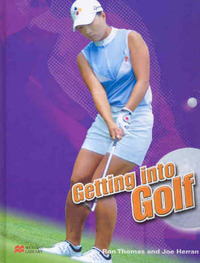 Getting into Golf Macmillan Library by Ron Thomas image