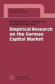 Empirical Research on the German Capital Market