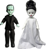 Living Dead Dolls - Frankenstein & The Bride (Set of 2)