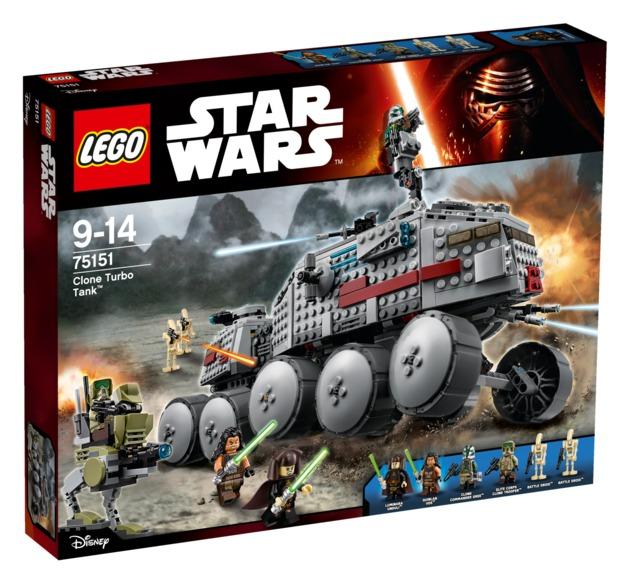 LEGO Star Wars: Clone Turbo Tank (75151)