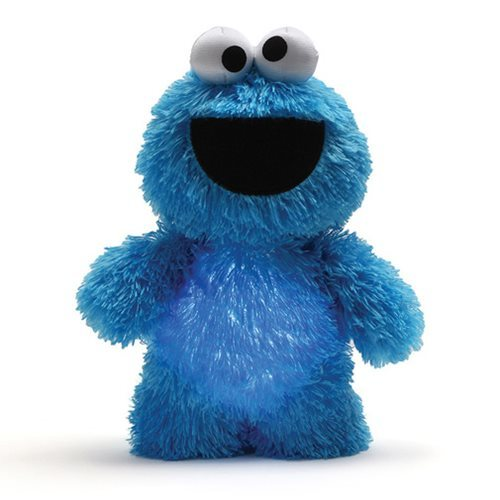 Sesame Street: Cookie Monster - Glow Pal Plush image